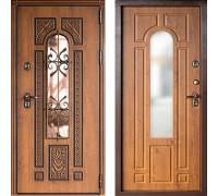 Дверь с терморазрывом Дверной Континент Лацио Термо Золтистый Дуб