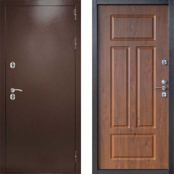 Дверь с терморазрывом Дверной Континент Термаль Сибирь Грецкий Орех