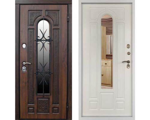 Дверь с терморазрывом Дверной Континент Лацио Термо Белая Матовая