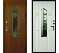 Дверь с терморазрывом Дверной Континент Лион Термо Альберо Браш