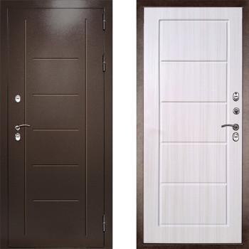 Входная дверь с терморазрывом Дверной Континент Термаль Экстра Лиственница Беж (уличная дверь с терморазрывом)