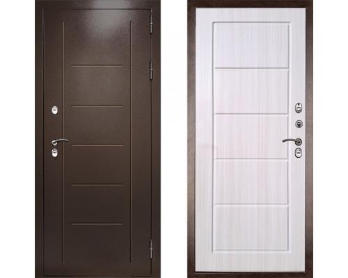 Двери с терморазрывом входная дверь с терморазрывом Дверной Континент Термаль Экстра Лиственница Беж (уличная дверь с терморазрывом)