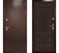 Входная уличная дверь с терморазрывом Дверной Континент Термаль Ультра Венге (уличные двери с терморазрывом)