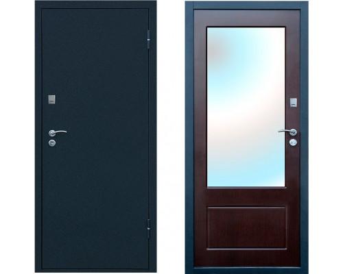 Входная дверь с зеркалом Форпост Рубеж 4 с зеркалом