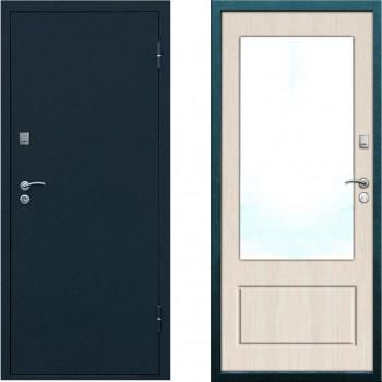 Входная дверь с зеркалом Форпост Рубеж 5 с зеркалом
