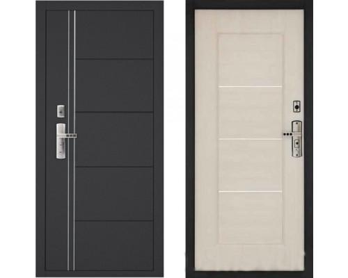 Входная металлическая дверь Форпост 128 Беленый Дуб для любого помещения