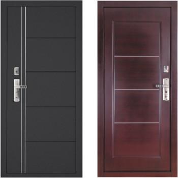 Входная металлическая дверь форпост 128 венге