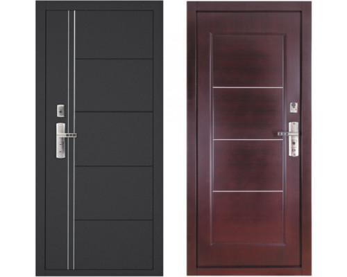 Металлическая дверь Форпост 128 Венге