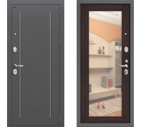 Металлическая дверь Грофф Т2-220 с зеркалом Венге
