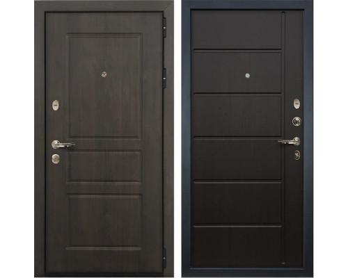 Входная стальная дверь Лекс Сенатор Винорит Венге (панель №41)