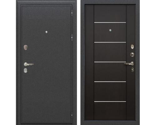 Входная металлическая дверь Лекс Колизей Молдинг Венге (панель №24)