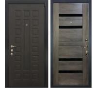 Входная металлическая дверь Лекс 4А Неаполь Mottura Неро Графит Шале (панель №65)