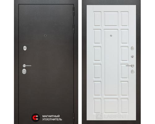 Входная дверь Labirint SIVLER 12 - Белое дерево