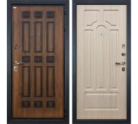 Входная металлическая дверь Лекс Гладиатор 3К Винорит Белёный дуб (панель №25)