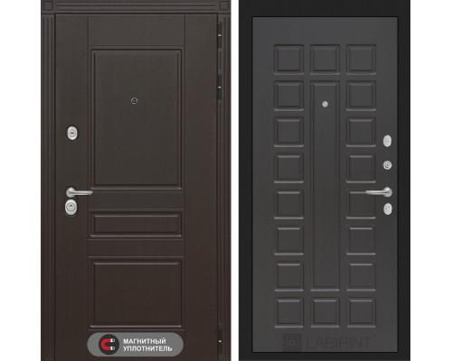 Входная дверь Labirint Мегаполис 04 - Венге