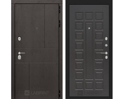 Входная дверь Labirint URBAN 04 Венге