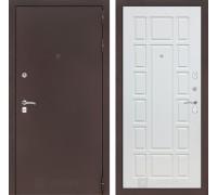 Входная дверь Labirint CLASSIC антик медный 12 - Белое дерево