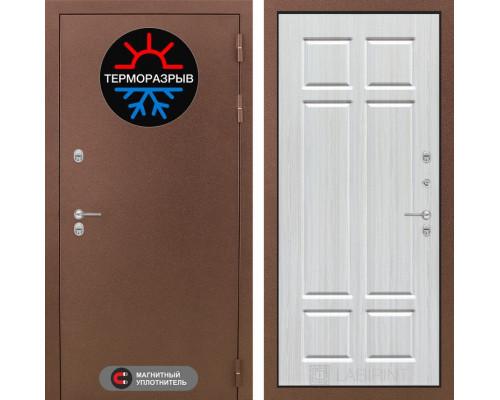 Входная дверь с терморазрывом Labirint Термо Магнит 08 Кристалл вуд
