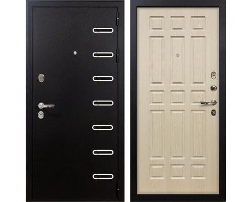 Входная металлическая дверь Лекс Витязь Беленый дуб (панель №28)