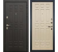 Входная металлическая дверь Лекс 8 Сенатор Дуб беленый (панель №28)