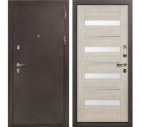 Входная металлическая дверь Лекс 5А Цезарь Сицилио Ясень кремовый (панель №48)