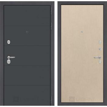 Входная дверь Labirint ART графит 05 - Венге светлый