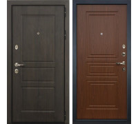 Входная стальная дверь Лекс Сенатор Винорит Береза мореная (панель №19)