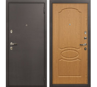 Входная стальная дверь Лекс 1А (№15 Натуральный дуб)