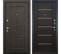 Входная стальная дверь Лекс Сенатор Винорит Молдин Венге (панель №24)