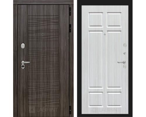 Входная дверь Labirint SCANDI Дарк грей 08 - Кристалл вуд