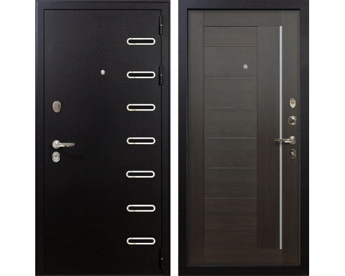 Входная металлическая дверь Лекс Витязь Верджиния Венге (панель №39)