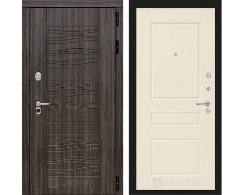 Входная дверь Labirint Сканди 03 - Крем софт