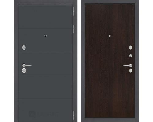 Входная дверь ART графит 05 Венге