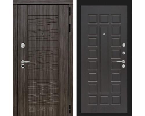Входная дверь Labirint SCANDI Дарк грей 04 - Венге