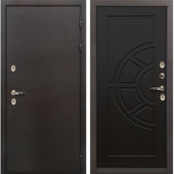 Входная металлическая дверь с терморазрывом Лекс Термо Сибирь 3К Венге (панель №43)