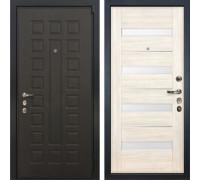 Входная металлическая дверь Лекс 4А Неаполь Mottura Сицилио Беленый дуб (панель №46)