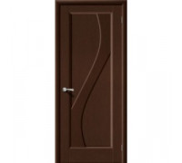 Межкомнатная шпонированная дверь Сандро ПГ венге