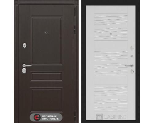 Входная дверь Labirint Мегаполис 06 - Белое дерево