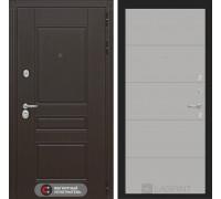 Входная дверь Labirint Мегаполис 13 - Грей софт