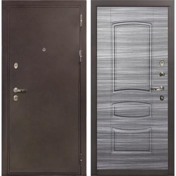 Входная металлическая дверь Лекс 5А Цезарь Сандал серый (панель №69)