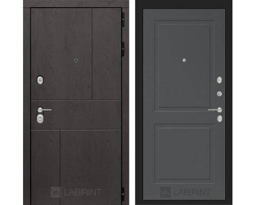 Входная дверь Labirint URBAN 11 Графит софт
