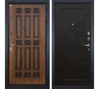 Входная металлическая дверь Лекс Гладиатор 3К Винорит Венге (панель №43)