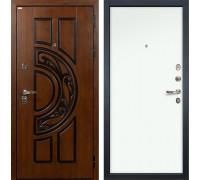 Входная металлическая дверь Лекс Спартак Cisa Винорит Белый (панель №59)