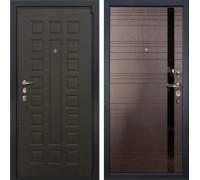 Входная металлическая дверь Лекс 4А Неаполь Mottura Ясень шоколад (панель №31)