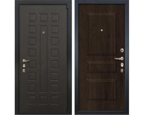Входная металлическая дверь Лекс 4А Неаполь Mottura Винорит Алмон 28 (панель №60)