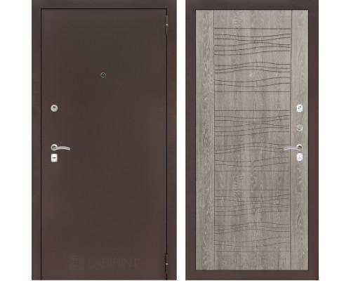 Входная дверь Labirint CLASSIC антик медный 06 - Дуб филадельфия SALE!