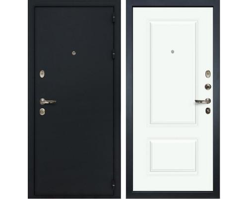 Входная металлическая дверь Лекс Рим Вероника-1 Эмаль Белая (панель №55)