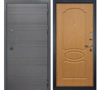 Входная дверь Лекс Сенатор 3К Софт графит (№15 Дуб натуральный)
