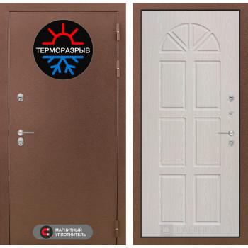Входная дверь с терморазрывом Labirint Термо Магнит 15 Алмон 25 (уличная дверь с терморазрывом)