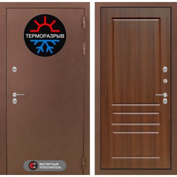 Входная дверь Labirint Термо Магнит 03 Орех бренди